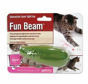 Petlinks Fun Beam Loco Laser Interactive Laser Light Pointer Toy Assorted Colors