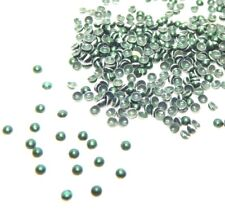 14,400+Forest Green-Domed HotFix/Iron on Metal Studs-(SS027)Bulk-New