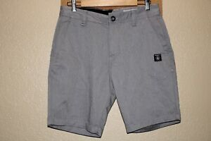 """NEW NWOT VOLCOM Mens 31"""" waist gray chino shorts Combine ship Discount"""