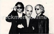 "R.E.M. Fanclub Postcard Fall 1998 ""UP"" Dates"