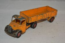 Dinky Toys 521 Bedford articulated lorry van in played with condition nice