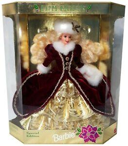 Happy Holiday Barbie doll
