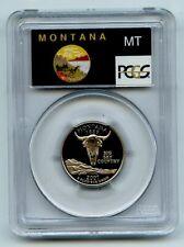 2007 S 25C Clad Montana Quarter PCGS PR70DCAM