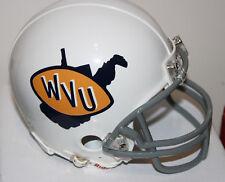 1971 - 72 West Virginia Mountaineers Riddell Mini Helmet