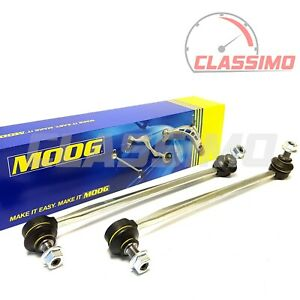 Moog Front Anti Roll Drop Links for SEAT LEON Mk 3 5F + SKODA OCTAVIA Mk 3 5E