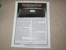 Sunfire 300x2 Amplifier Ad, 1995, Article, Specs, Bob Carver Info