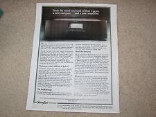 Sunfire 300x2 Amplifier Ad, 1995, Article, Specs, Bob Carver Info