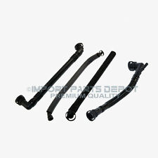 BMW PCV Crankcase Vent Valve Oil Separator Breather Hose Kit Premium Quality x4