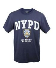 Rothco 6638 T- Shirt NYPD Officially Licensed Tee Shirt Navy Blue