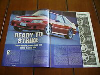 1993 MUSTANG COBRA ***ORIGINAL ARTICLE***