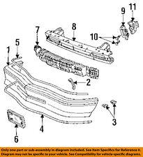 Buick GM OEM 92-95 Skylark Bumper Face-Foam Impact Absorber Bar 16514415
