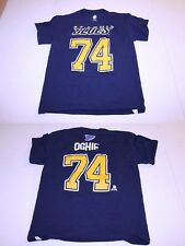 Youth St Louis Blues T. J. Oshie L (14/16) Jersey T-Shirt Tee (Navy Blue) NHL Je
