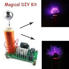Mini Tesla Coil Plasma Speaker Electronic Kit 15W DIY Kits With Stainless Ball