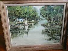 Aquarelle Robert L.P. LAVOINE (1916-1999)