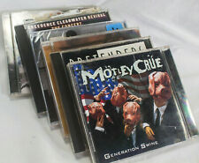 CDs Lot of 6 Motley Crue Gen Swine Pretenters Eric Clapton Norah Jones CCR U2