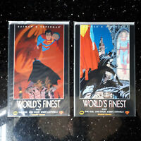 "COMICS ""BATMAN SUPERMAN WORLD´S FINEST"" Carlsen 2000  Band 1 - 2  Zustand 0/1 bb"