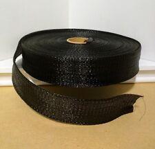 "1 3/4 Inch Polypropylene Webbing 100 Yards Roll Black New 1-3/4"" Nylon Strap"