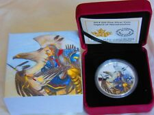 1 oz. Fine Silver Coin - Legend of Nanaboozhoo - Mintage: 8,500 (2014)