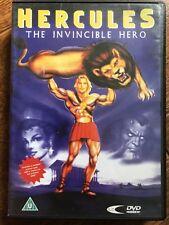 Hercules: THE INVINCIBLE HERO - The Legendary Tale ~ Animación adventure GB DVD