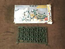 scale 1/72. WWII. Esci Set 201 German Soldiers. vintage 70s kit