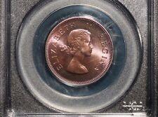 1953 South Africa 1/2 Penny PCGS PR 65 RB