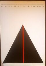 Barnett Newman Color Lithograph for Expo at Centre Georges Pompidou in 1968