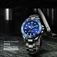 TEVISE Business Luxury Mens Automatic Mechanical Wrist Watch Stainless Steel UK
