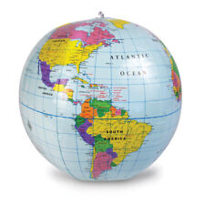 "Inflatable 12"" World Globe"
