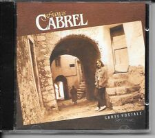 CD ALBUM 10 TITRES--FRANCIS CABREL--CARTE POSTALE--1981