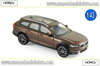 PROMO Volvo V90 Cross Country de 2017 Maple Brown  NOREV - NO 870069 - Ech 1/43