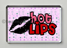 New, Quality Fridge Magnet, Hot Lips, Kiss, Fun & Sexy Valentine's Gift Idea