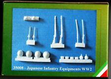ALLARMI!! by ITALIAN KITS 35008 - JAPANESE INFANTRY EQUIPMENT - 1/35 RESIN KIT