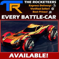 [PC] Rocket League Every Default Battle-Car FENNEC ZSR GT SENTINEL GP etc.