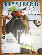 NEW JULY 28 2014 SPORTS ILLUSTRATED RORY MCILROY Masters Preview Golf DREW BREES