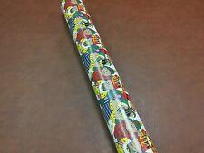 Half ream 30 inch wide Bear Christmas gift wrap 417 feet