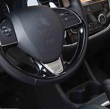 stainless Steering Wheel Trim 1pcs for Mitsubishi Outlander 2013 - 2015 2016