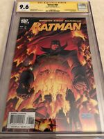 Batman 666 Cgc SS 9.6 not 9.8