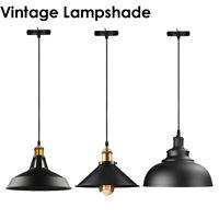 Modern Industrial Vintage Loft Style Ceiling Pendant Light Lamp Shade Fittings