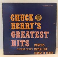 Chuck Berry's Greatest Hits Chess 1485 mono 1964 Memphis Maybelline Johny B Good