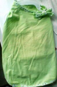 Martha Stewart Pets XSmall Green Sun Dress