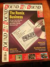 Sound on Sound  Magazines - June 2009, July 2009 & August 2009