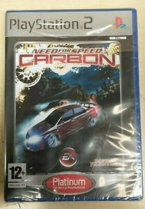 Need for Speed: Carbon PS2 Platinum Edition (Brand New) Italian Packaging