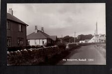 Beadnell - The Bungalows - real photographic postcard