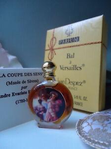 JEAN DESPREZ Bal a Versailles Parfum 4ml Vintage 1960s New Mint Gift Cond Box