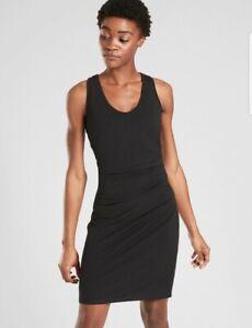 New! ATHLETA Della Dress Black Size Small #531168