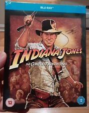 Indiana Jones (Blu-Ray Boxset) All 4 Movies (Region Free) - Brand NEW-Free S&H