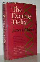 James D Watson / THE DOUBLE HELIX 1968 1ˢᵗ Edition; 2ⁿᵈ Printing