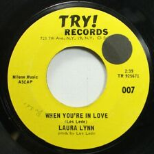 Soul 45 Laura Lynn - When You'Re In Love / Until Then On Try! Records