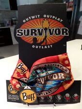 SURVIVOR GEN X V Millennials Orange VANUA Tribe BUFF BNWT Mint CONDITION