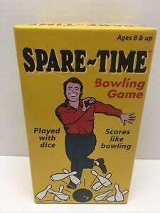 VINTAGE SPARE TIME BOWLING GAME